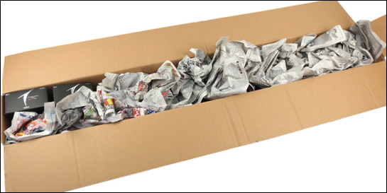 ロッドリールなどまとめての梱包方法